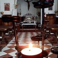 All'interno della Cappella
