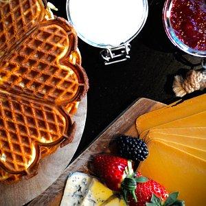 Enjoy a good Norwegian waffle