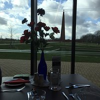 Sunday lunch with a view.