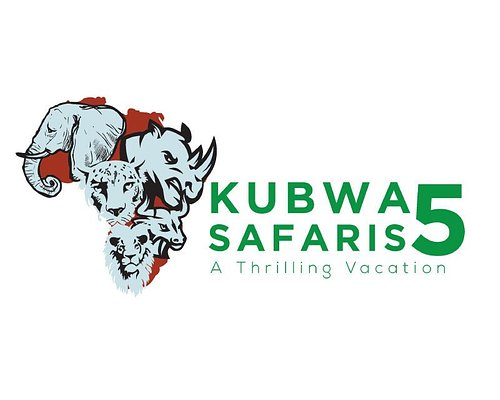 The Official Logo of Kubwa Five Safaris
