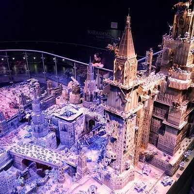 Part of the largest diorama Games Workshop has ever produced
