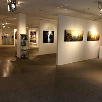 A further view of art works in the Gallery