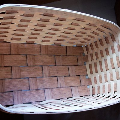 FEATURED NEW BASKET! Oak-N-Ash! This stunning new basket features Red Oak & Appalachian White Ash-expertly woven to create a true masterpiece that will last for years to com!