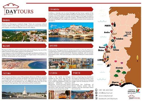 Lisbon to Porto with stop at Óbidos Nazaré Fátima Coimbra and Aveiro private