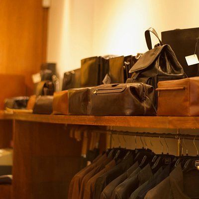 Some of our leather goods.