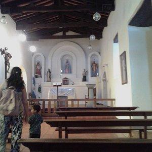 Capilla Històrica Nuestra Señora del Rosario: Villa de Merlo, Pcia. de San Luis, Argentina 2020.