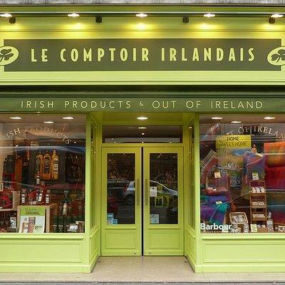 Le Comptoir Irlandai de Caen  vous accueille au cœur de l'Irlande et des produits celtes à travers sa cave, sa collection textile, son épicerie et ses accessoires pour la maison !