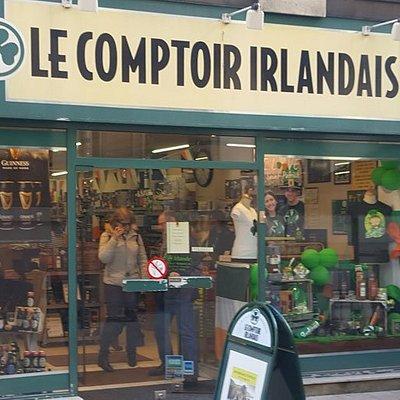 Le Comptoir Irlandais de Dijon vous accueille au cœur de l'Irlande et des produits celtes à travers sa cave, sa collection textile, son épicerie et ses accessoires pour la maison !