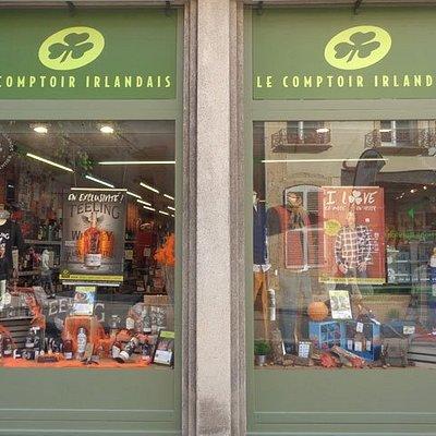 Le Comptoir Irlandais de Metz vous accueille au cœur de l'Irlande et des produits celtes à travers sa cave, sa collection textile, son épicerie et ses accessoires pour la maison !