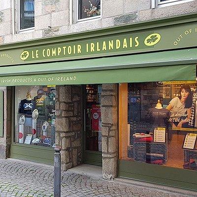 Le Comptoir Irlandais de Paimpol vous accueille au cœur de l'Irlande et des produits celtes à travers sa cave, sa collection textile, son épicerie et ses accessoires pour la maison !