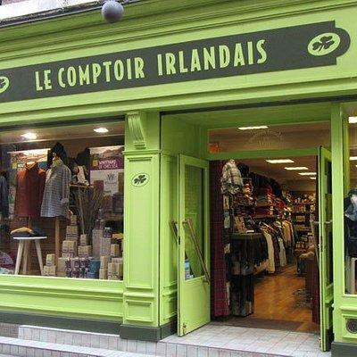 Le Comptoir Irlandais de Pontivy vous accueille au cœur de l'Irlande et des produits celtes à travers sa cave, sa collection textile, son épicerie et ses accessoires pour la maison !