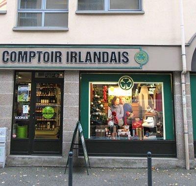 Le Comptoir Irlandais de Rennes vous accueille au cœur de l'Irlande et des produits celtes à travers sa cave, sa collection textile, son épicerie et ses accessoires pour la maison !