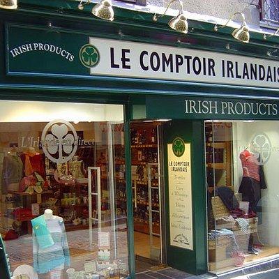 Le Comptoir Irlandais de Saint Brieuc vous accueille au cœur de l'Irlande et des produits celtes à travers sa cave, sa collection textile, son épicerie et ses accessoires pour la maison !