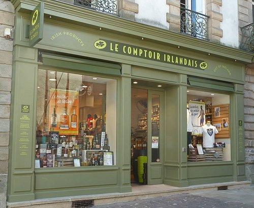 Le Comptoir Irlandais de Vannes vous accueille au cœur de l'Irlande et des produits celtes à travers sa cave, sa collection textile, son épicerie et ses accessoires pour la maison !