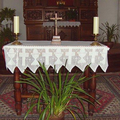 Erimita de San Sebastian, schlicht und einfach...nur Kirche....
