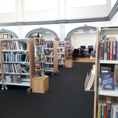St Annes Library inside