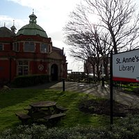 St Annes Library Entrance