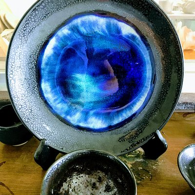 Mysterious Blue Pottery
