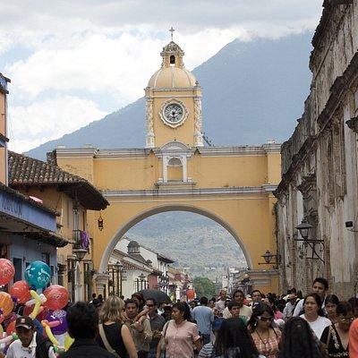 Arch in Antigua