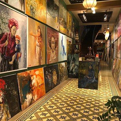 1 of 14 D&C Art Gallery