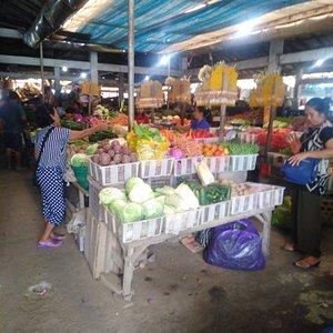 Local vegetable vendor