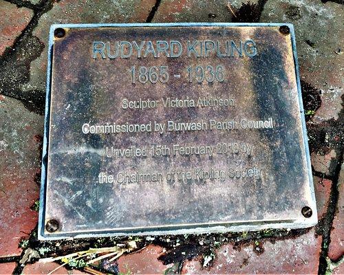 2.  Rudyard Kipling Statue, Burwash, East Sussex