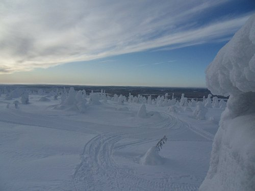 Breathtakingly beautiful winter view