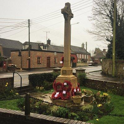 1.  Dymchurch War Memorial, Dymchurch, Kent