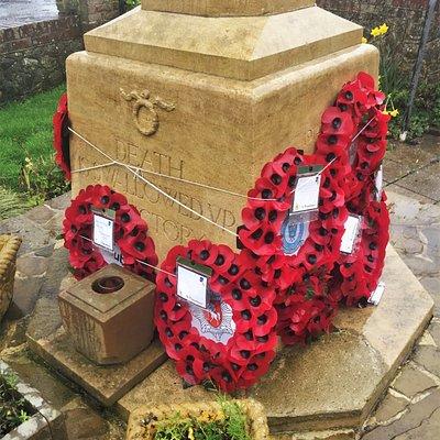 4.  Dymchurch War Memorial, Dymchurch, Kent