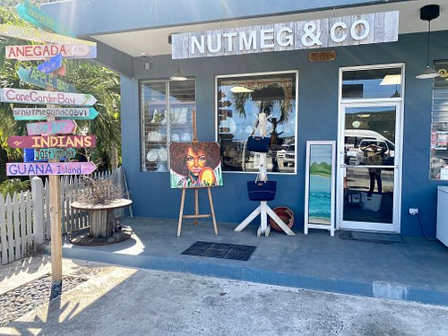 Come and see us at Nutmeg and Co. where you will find a fabulous range of gifts, greetings cards and of course quality items made or designed right here in the BVI