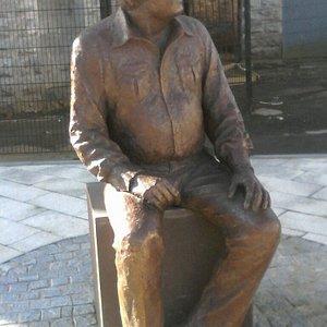 Big Tom Memorial Statue, Castleblayney, County Monaghan.