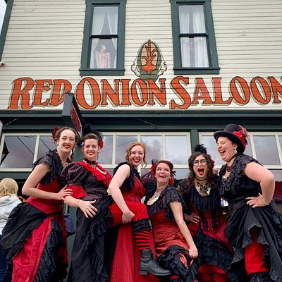 Welcome to the Red Onion Saloon