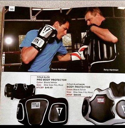Title boxing magazine