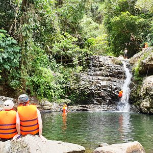 Canyoning Thac G'Rang Falls From Hoi An with Phat Tire Ventures Vietnam