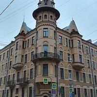 Доходный дом А.Ю. Кейбеля, ул. Б. Зеленина, 33/Барочная, 2, январь.