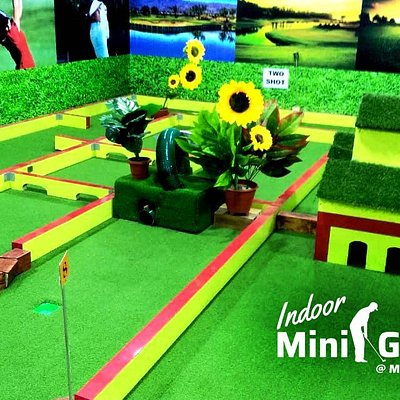 Families often don't get enough time togeather engaging in fun activities. Thus we have created the air conditioned Indoor Mini Golf at Mayajaal Multiplex in East Coast Road (ECR) in Chennai.