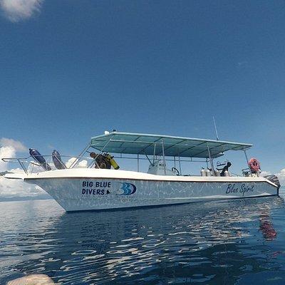 Big Blue Divers - Blue Spirit Boat