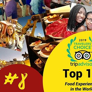 Adventurous Appetites was 8th Best Food Experience in the WORLD 2019