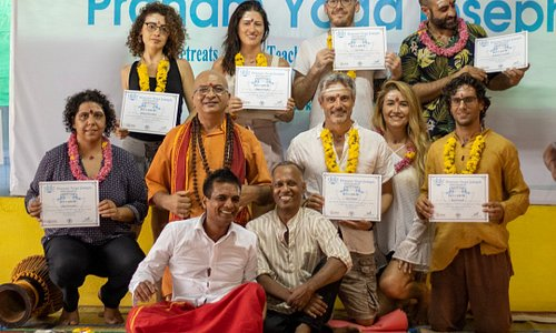 200 Hr Yoga Teacher Training Course Graduation ceremony -  February 2020