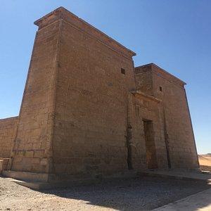 Facade of the temple