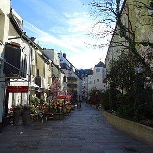 Ingresso da sottopasso Kreuzstrasse