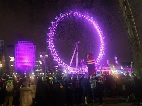 London Eye by River Thames