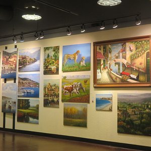 Mook Art Gallery, Great Mall, Milpitas, CA