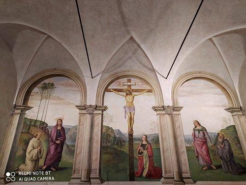 La Crocifissione è un affresco (480x812 cm) di Pietro Perugino, databile al 1494-1496 e conservato nella sala capitolare dell'ex-convento di Santa Maria Maddalena dei Pazzi a Firenze