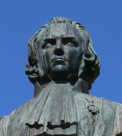 détail du buste