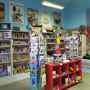 Our store with traditional Czechoslovak toys