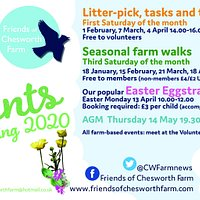 Winter/Spring events on at the farm