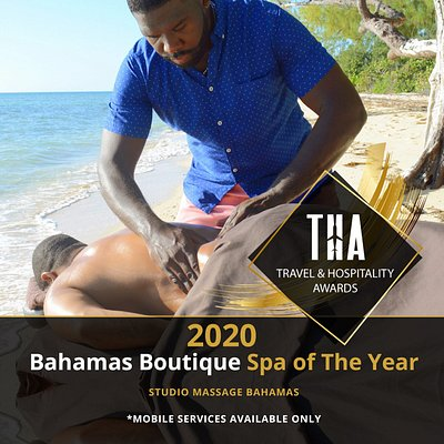 Honored recipient of the Bahamas Boutique Spa of The Year 2020 | thawards.com
