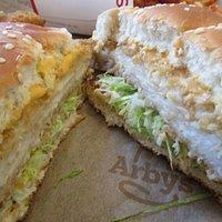 InSIde - Fish 'N Cheddar Sandwich