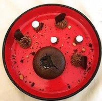 Moelleux au chocolat au caramel beurre salé